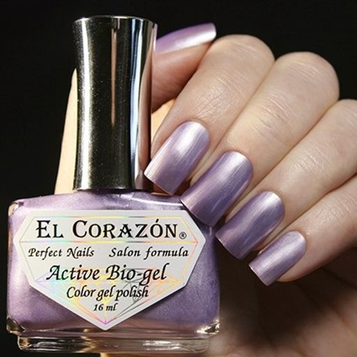 Лак Japanese Silk №423/936 Active Bio-gel Color gel polish 16 мл El Corazon