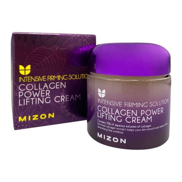 Коллагеновый лифтинг-крем для лица Collagen Power Lifting Cream 75 мл MIZON